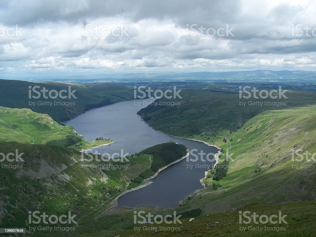 Haweswater Reservoir stock photo