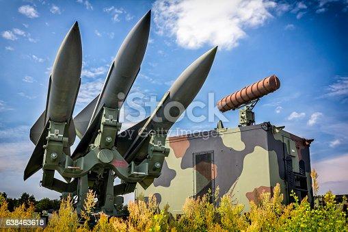 US Hawk missles in defense readiness