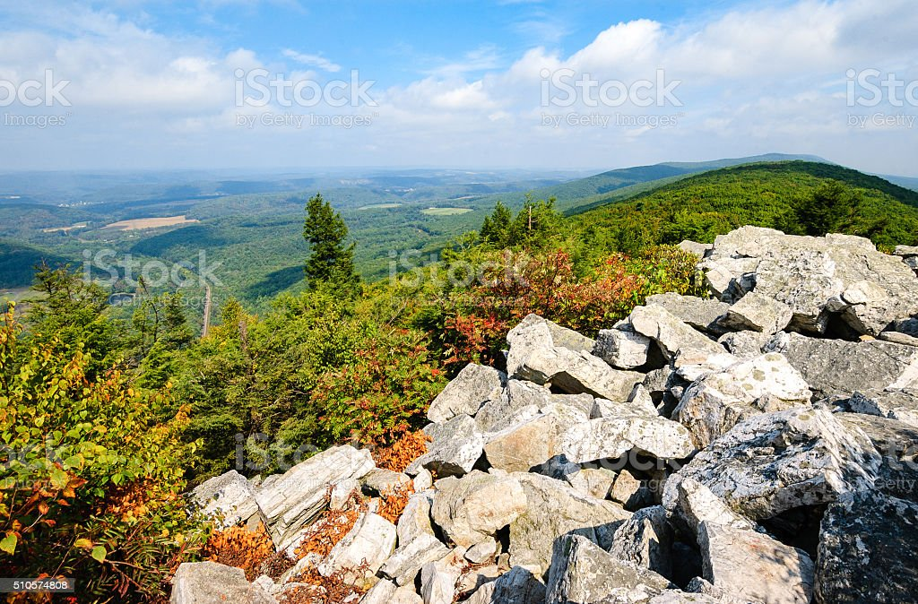 Hawk Mountain Sanctuary stock photo