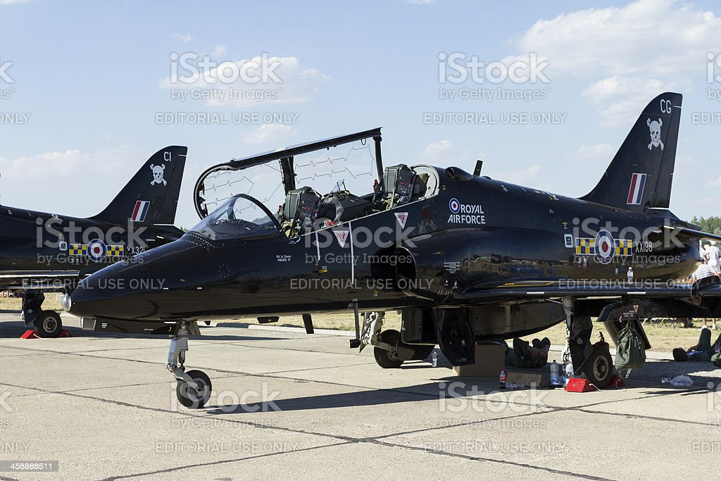 Hawk trainer jet royalty-free stock photo