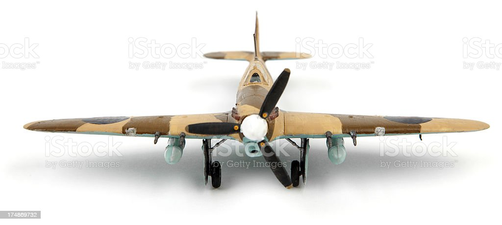 Hawker hurricane royalty-free stock photo