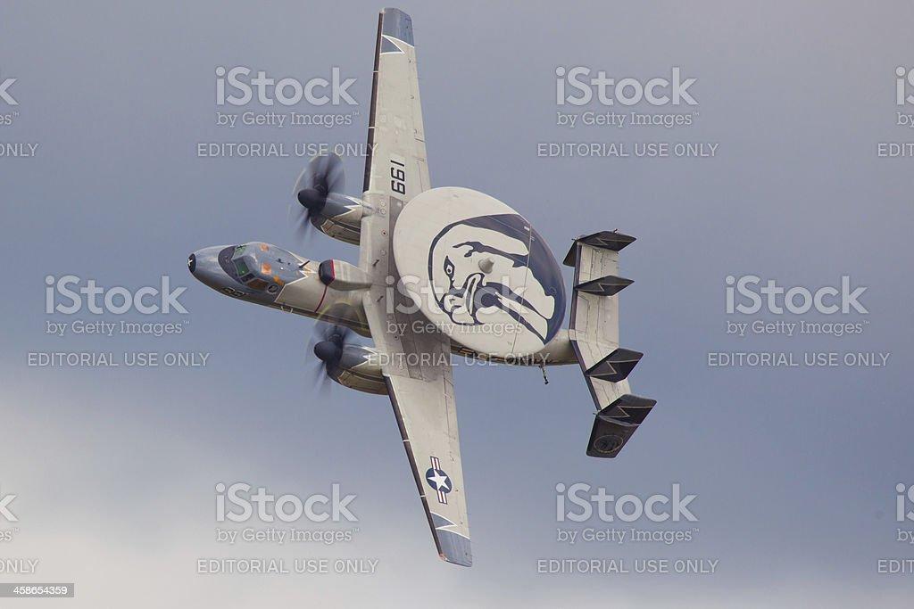 E-2 Hawkeye Northrop Grumman stock photo