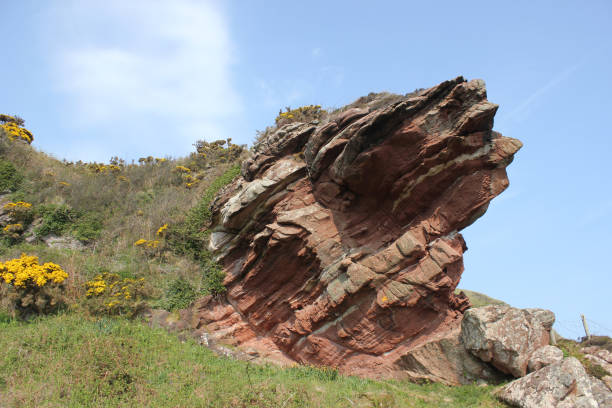 hawk's neb - outcrop stock pictures, royalty-free photos & images