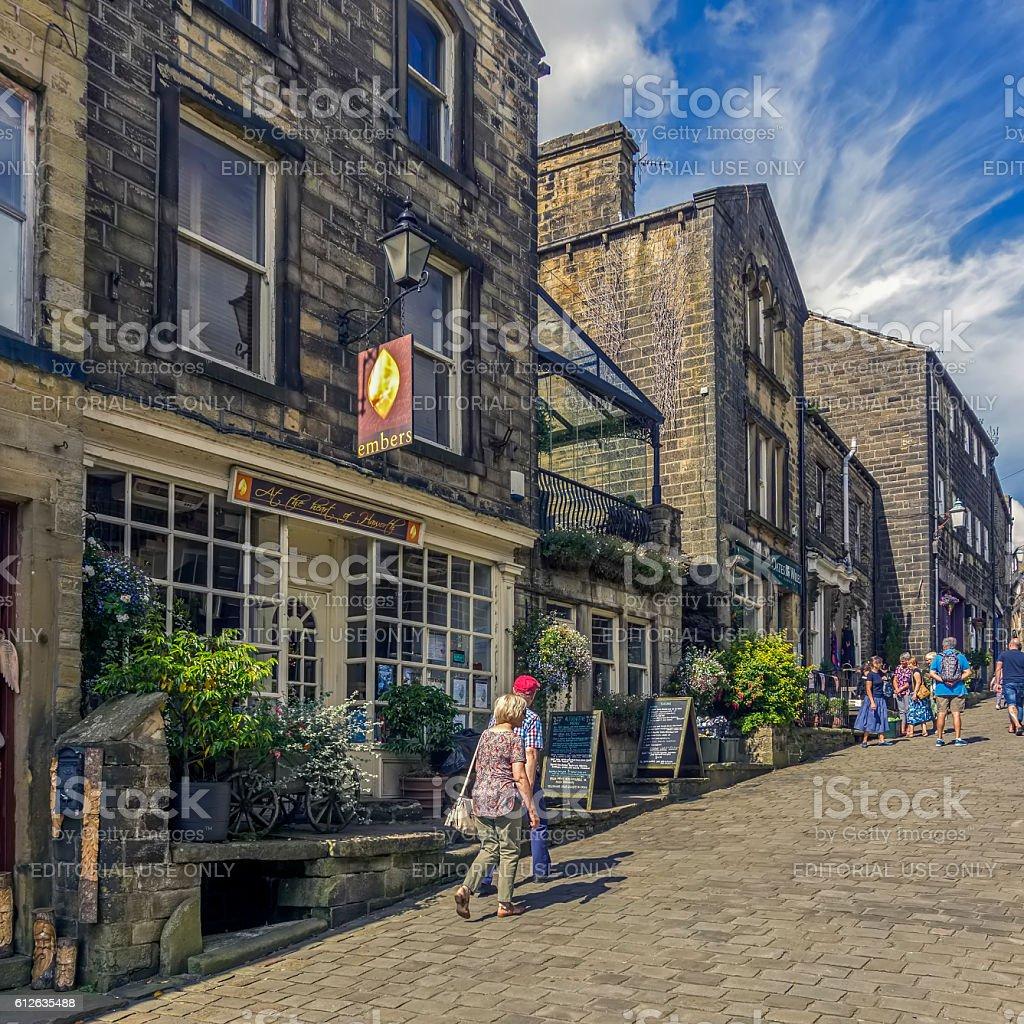 Haworth, Yorkshire. stock photo