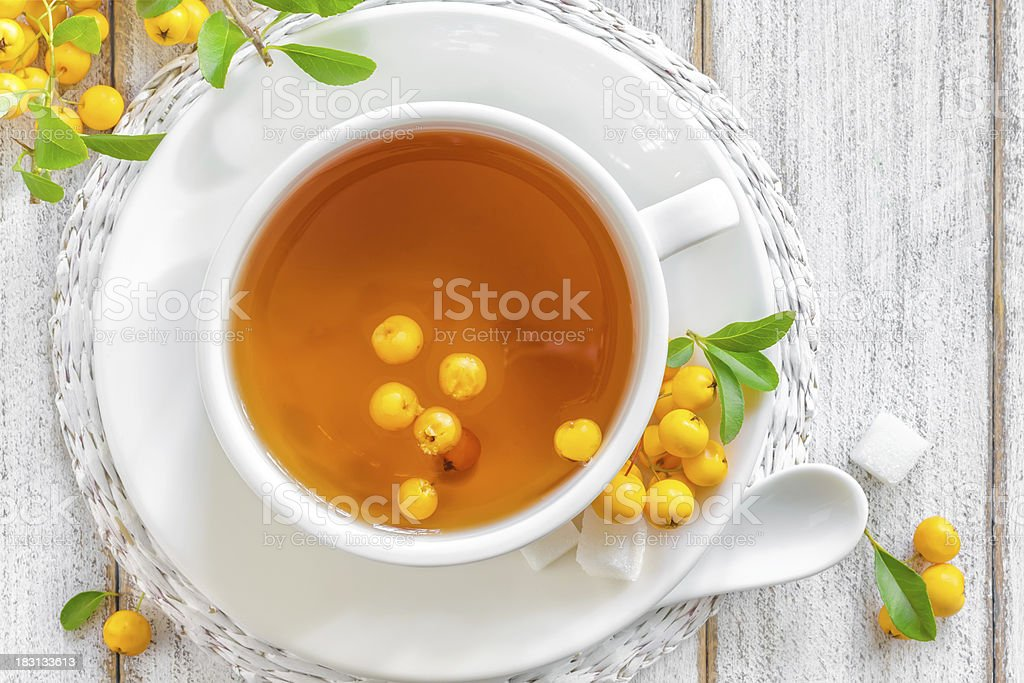 Hawthorn tea - Royalty-free Afternoon Tea Stock Photo