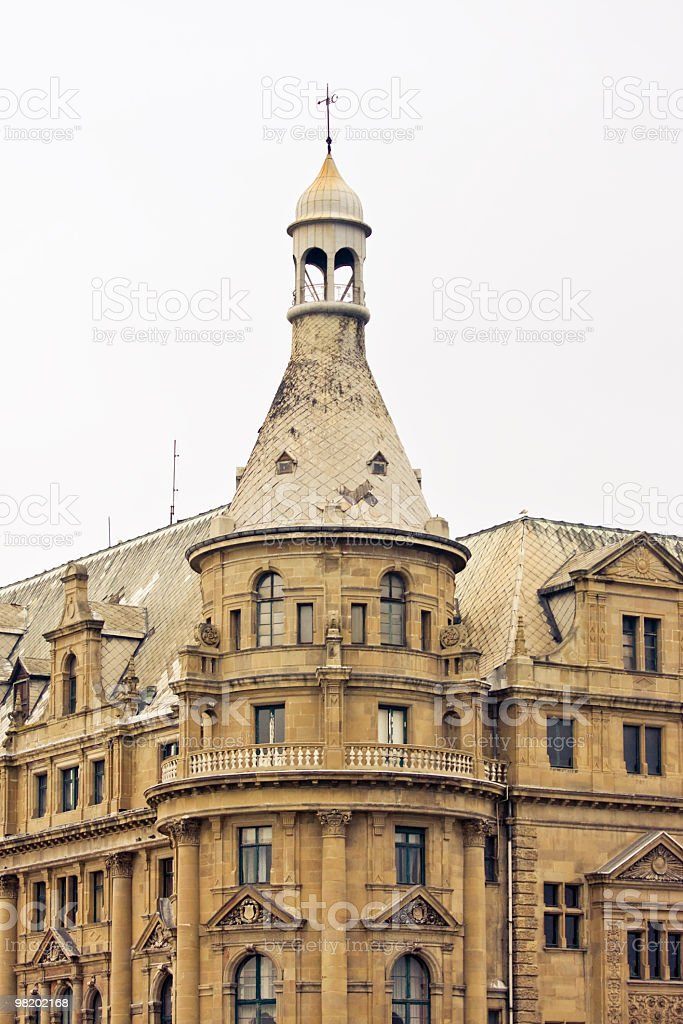 Haydarpasa central station building royalty-free stock photo