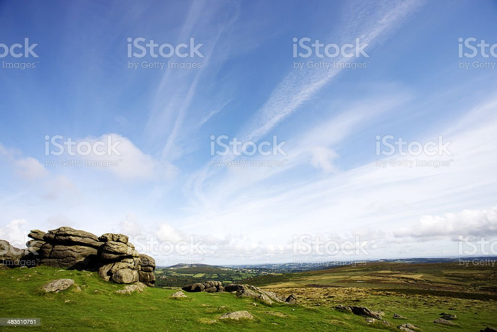 Haytor stock photo