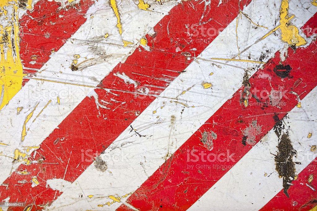 Hazard Stripes royalty-free stock photo