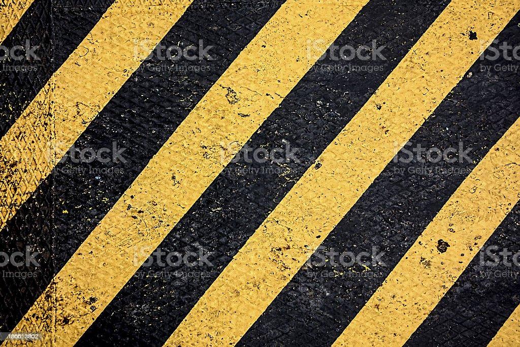 Hazard Stripes stock photo