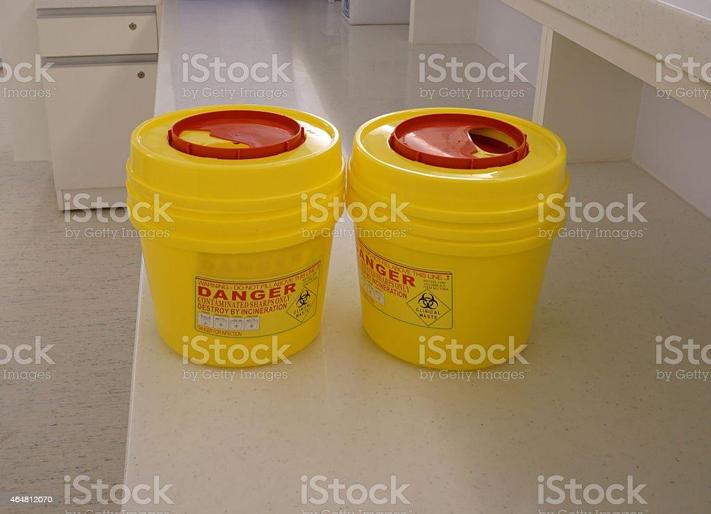 hazardous container stock photo