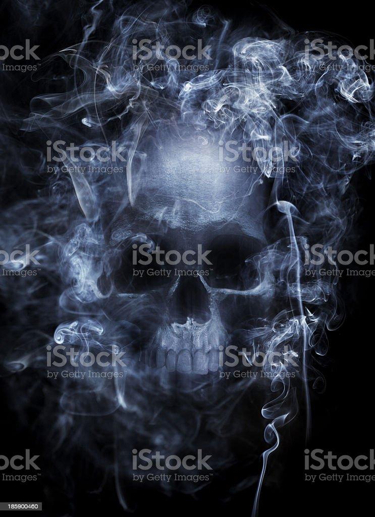 Hazardous Smoke stock photo