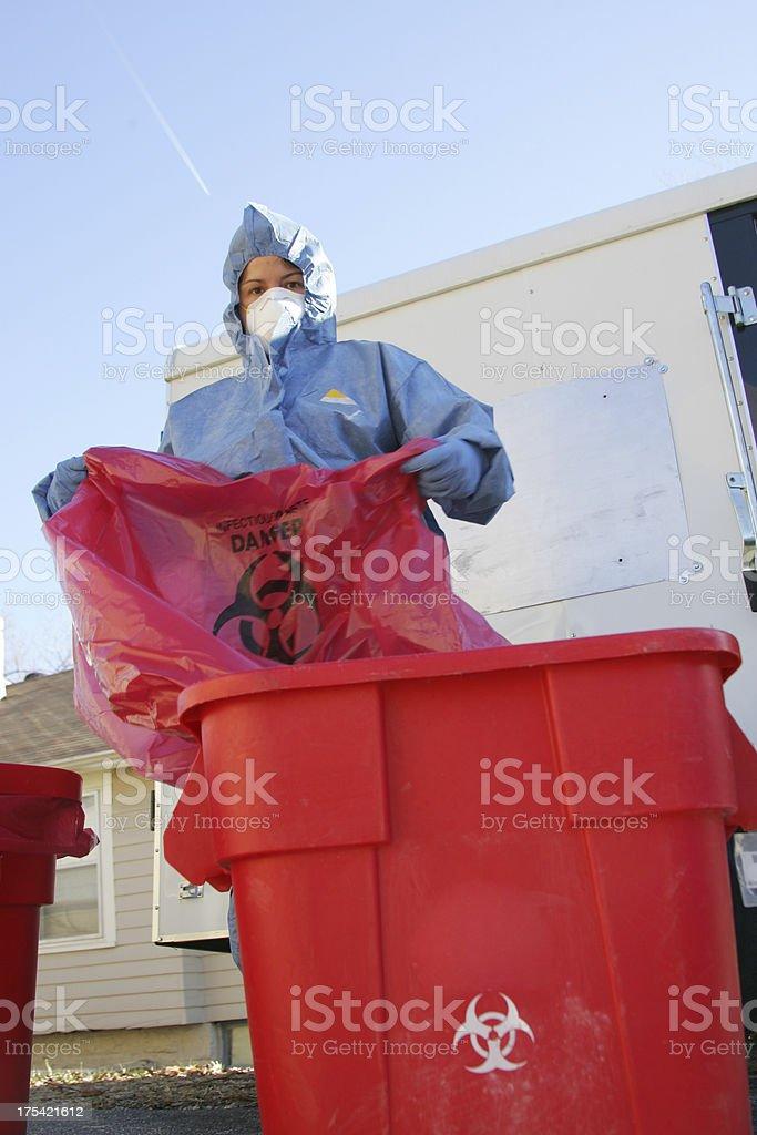 Hazardous Waste stock photo