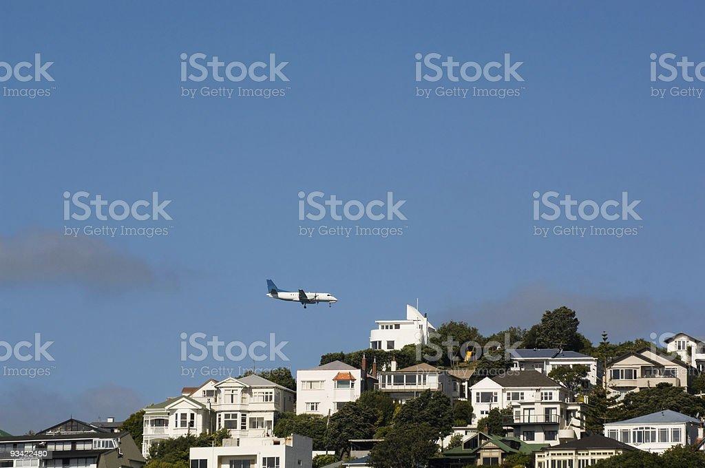 Hazards of Air Travel royalty-free stock photo