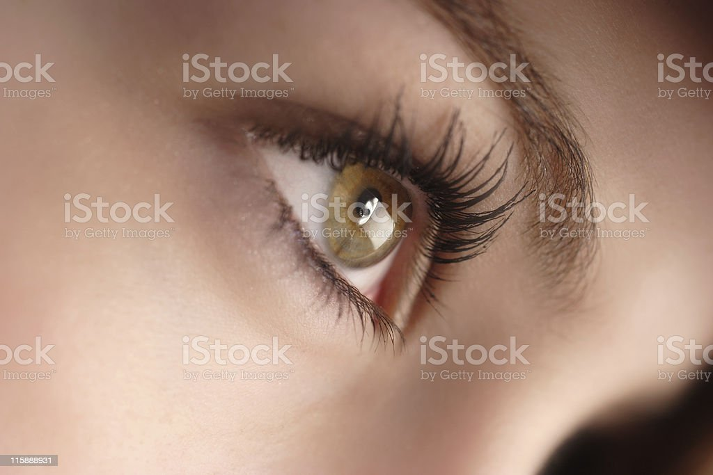 hazel eyes royalty-free stock photo