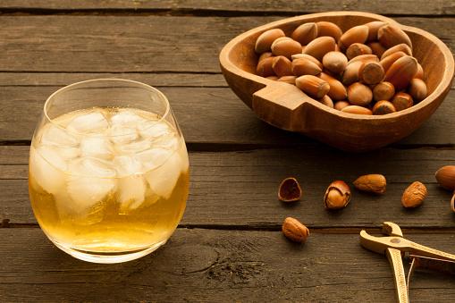 hazelnut and peanut