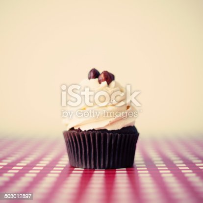 istock Hazelnut cupcake 503012897