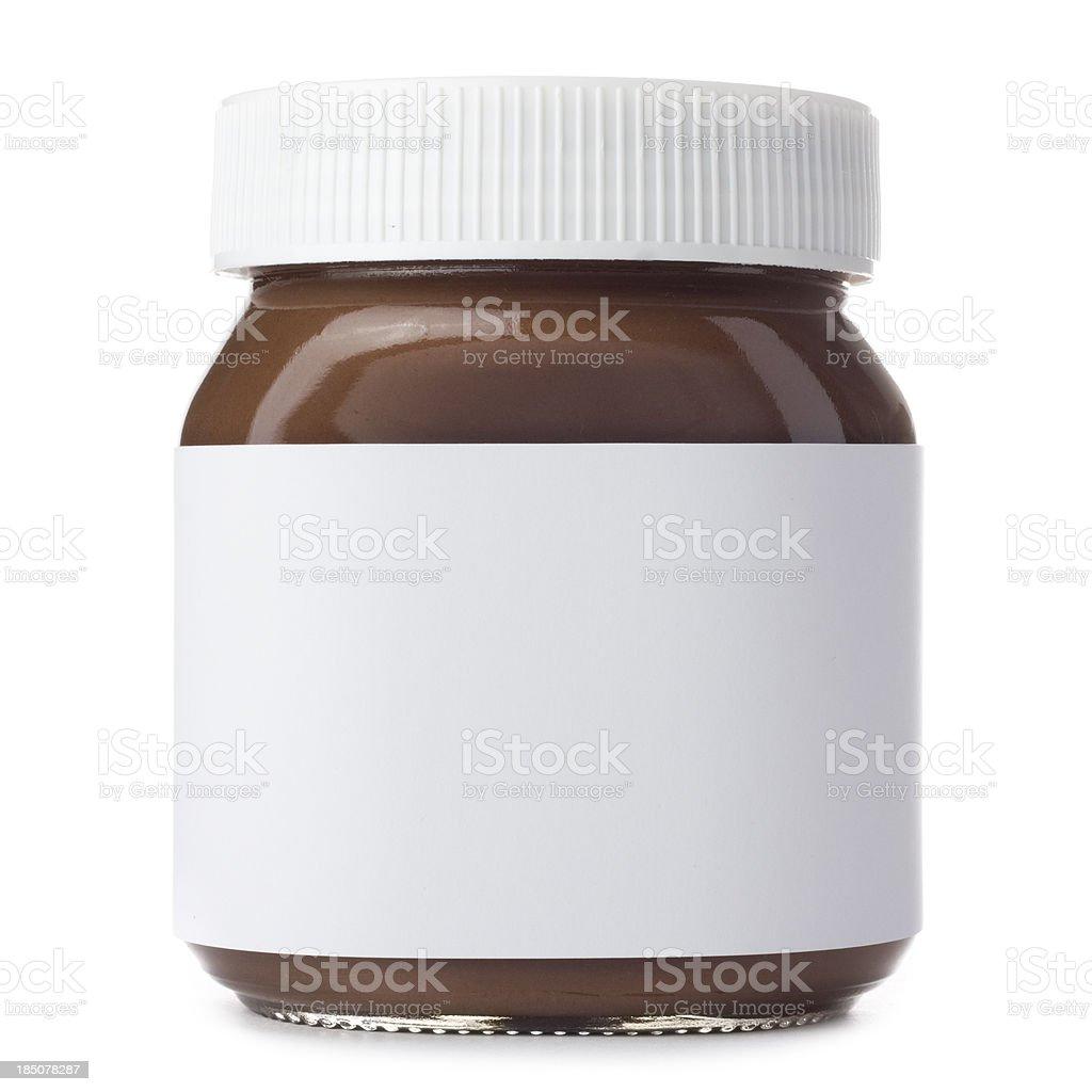 Hazelnut Spread stock photo