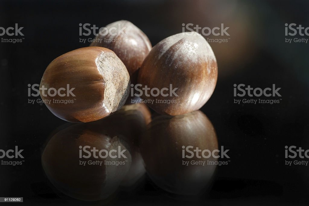 hazelnuts I royalty-free stock photo