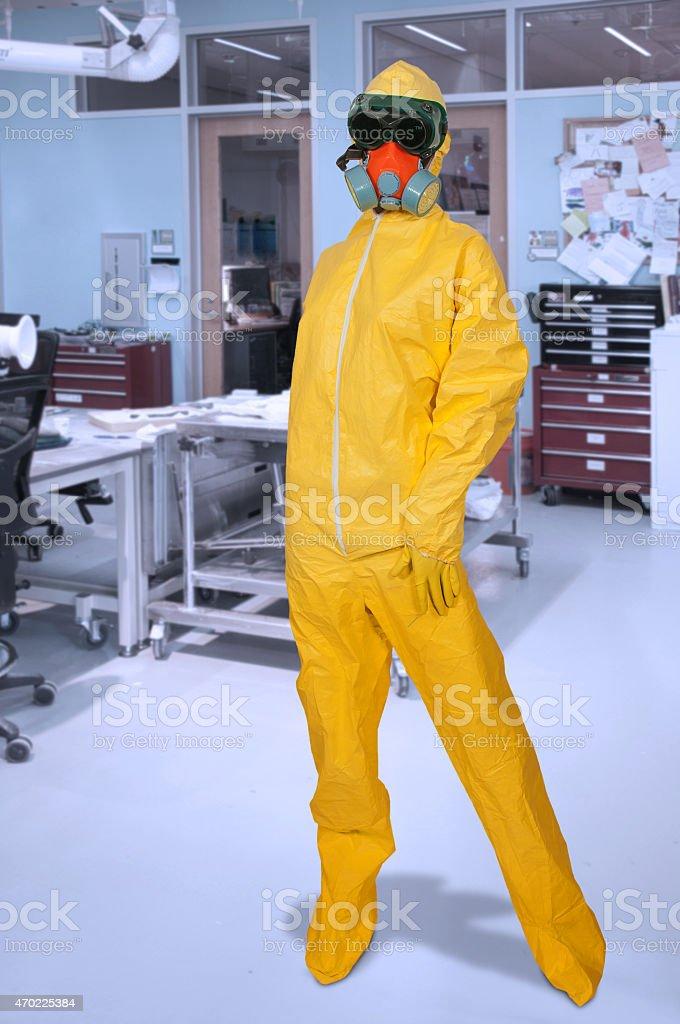 Hazmat Suit Stock Photo - Download Image Now - iStock