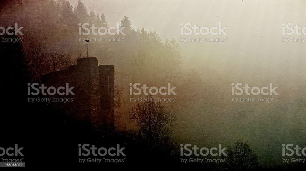 Hazy Morning stock photo