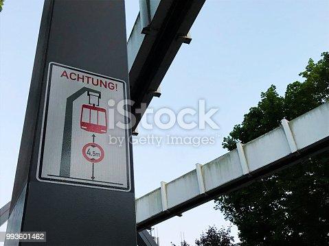 istock H-Bahn SkyTrain (