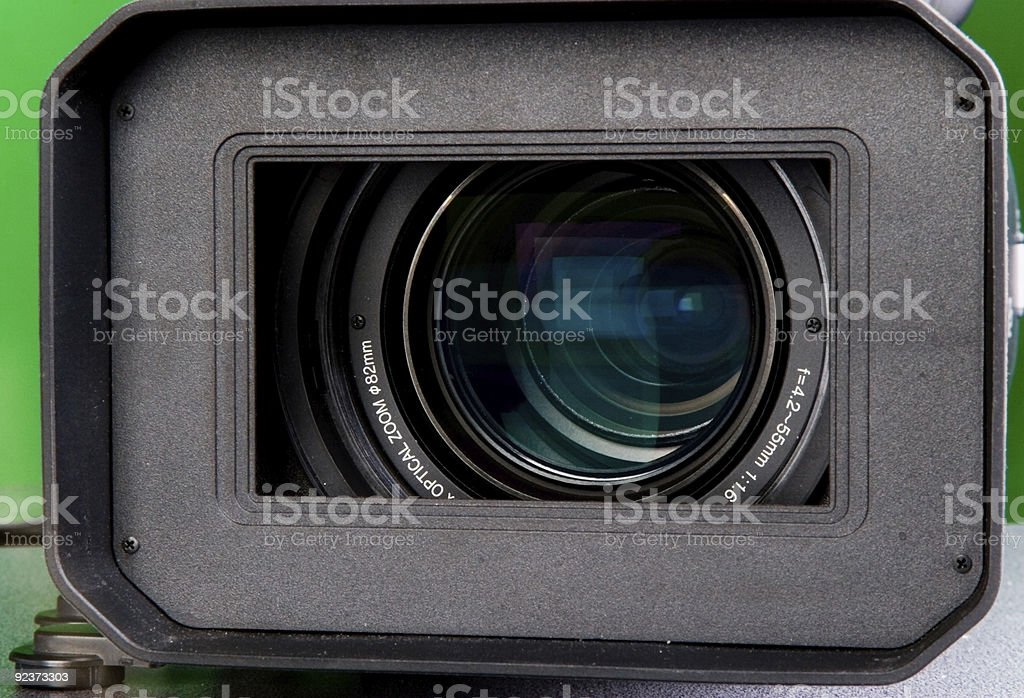hd camera lens royalty-free stock photo