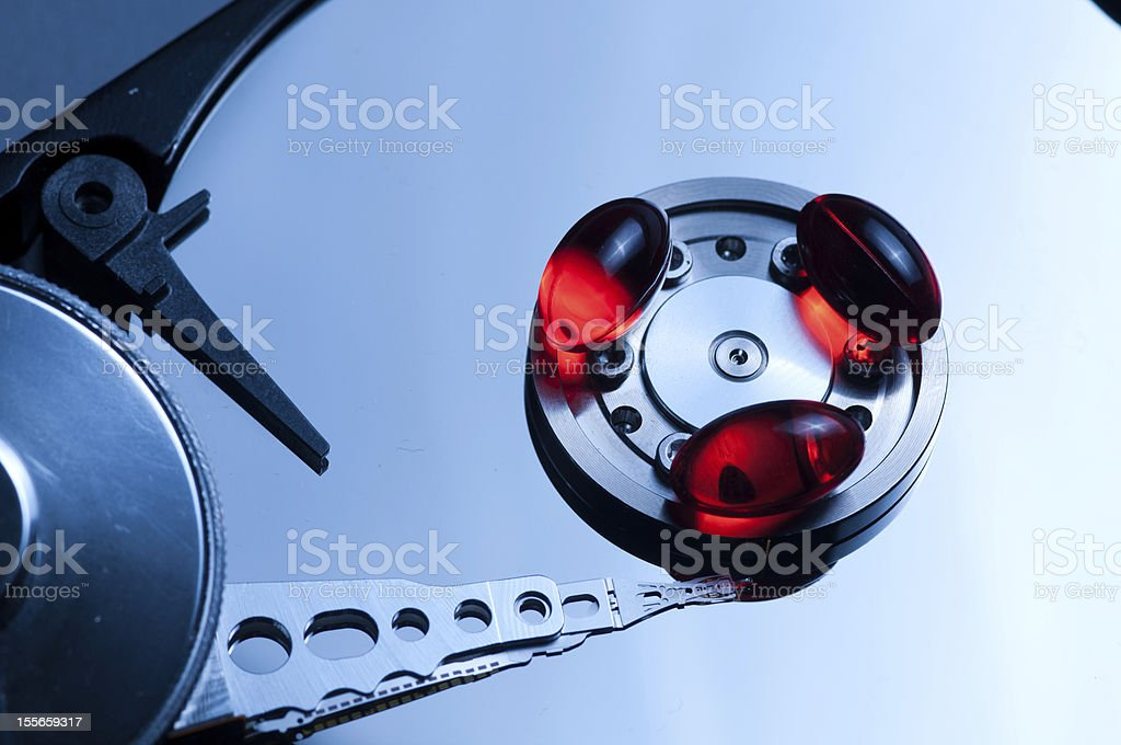 Hdd Concept royalty-free stock photo