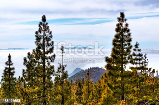 istock hdr of clouds at Teide national park. tenerife 168494683