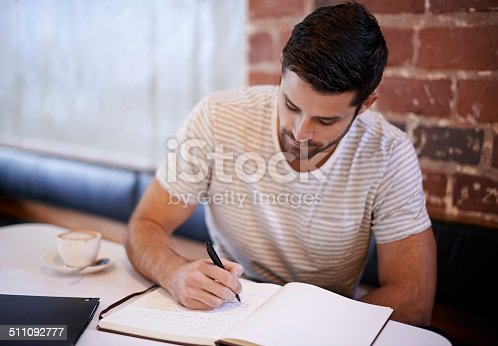 1175668510 istock photo He always brings his notebook along 511092777