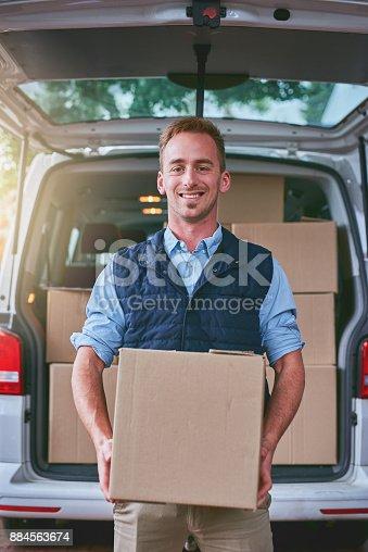 635967404 istock photo He always delivers 884563674