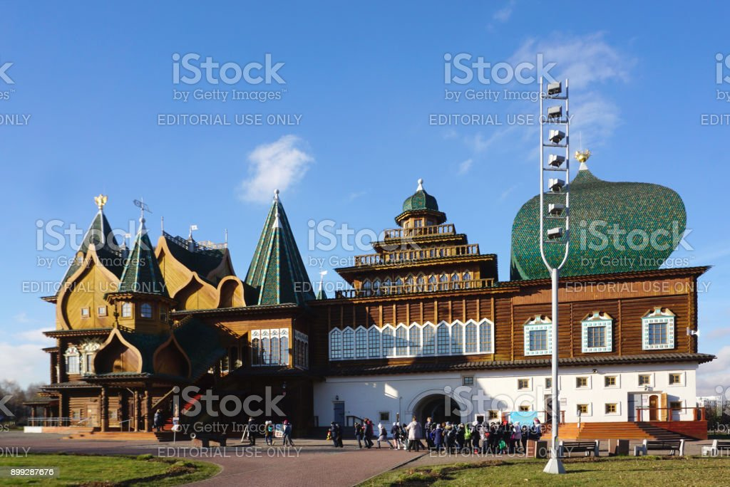He Best Masterpieces Of Russian Wooden Structure Of Palace Of Tsar