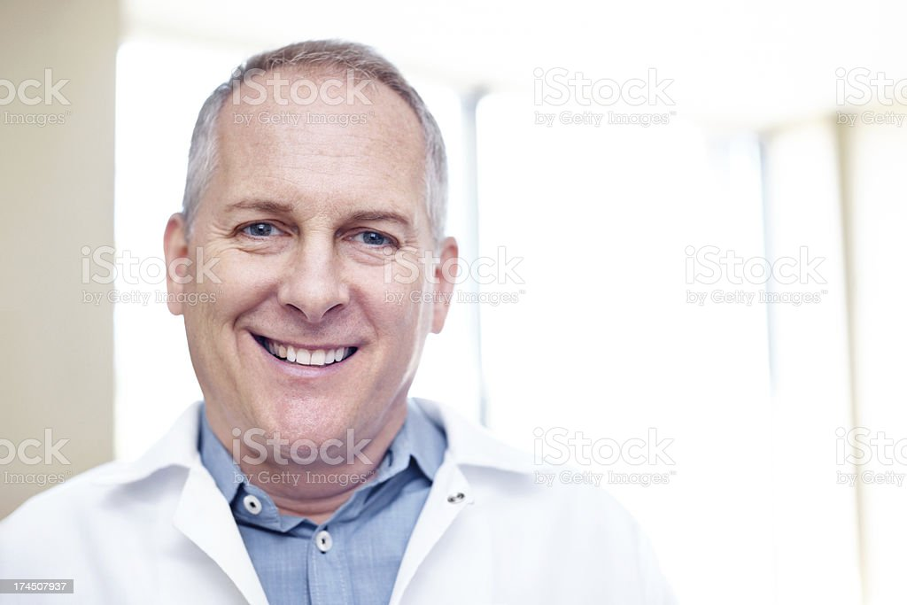 He has a face you can trust royalty-free stock photo