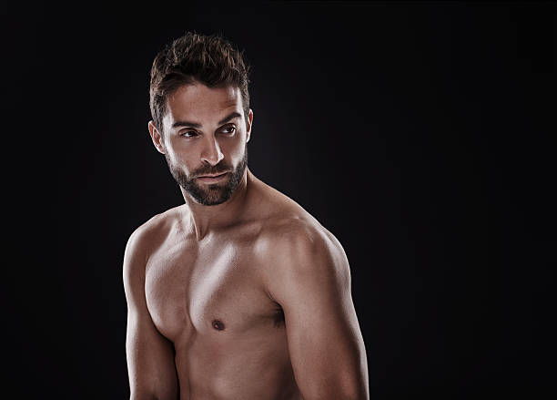 Nude Male Hunks Stock Photos, Pictures & Royalty-Free