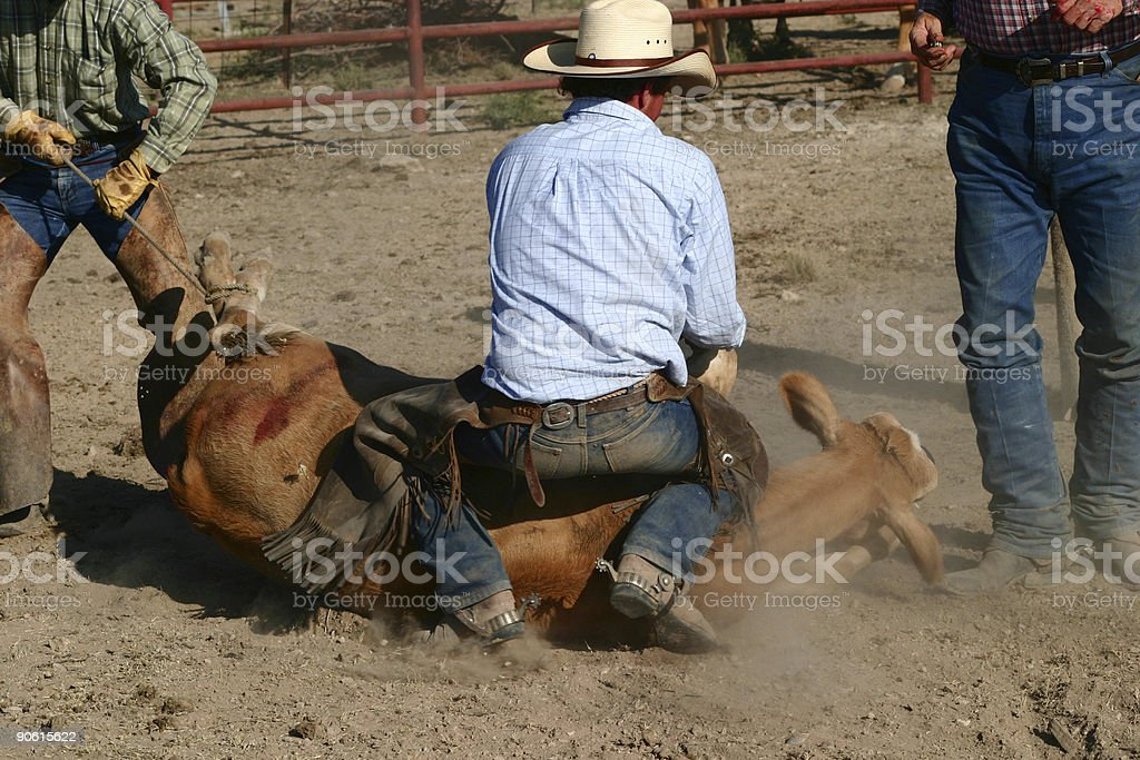 He is Down. royalty-free stock photo