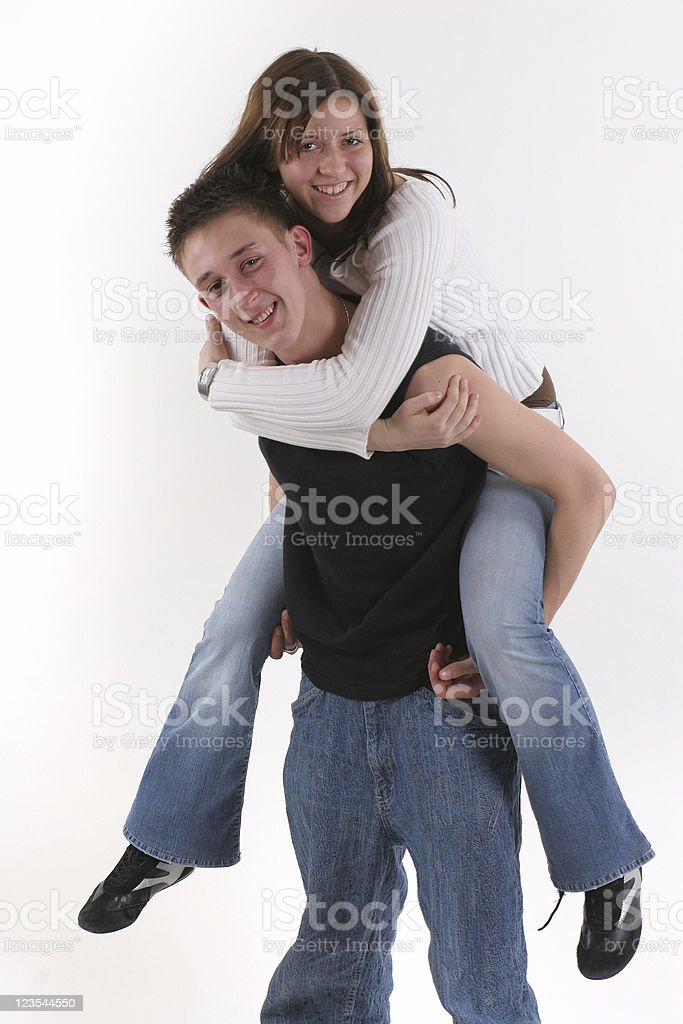 He is mine! royalty-free stock photo