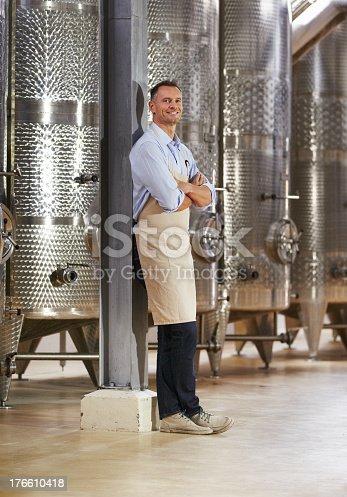 istock He is proud of his wines 176610418