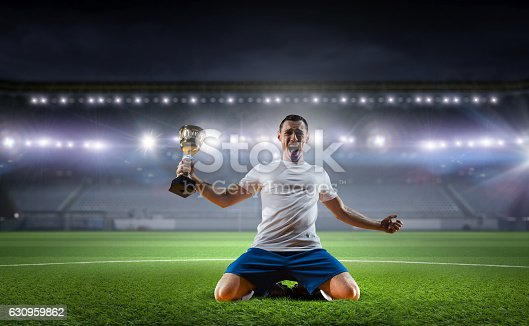 istock He is the champ . Mixed media 630959862