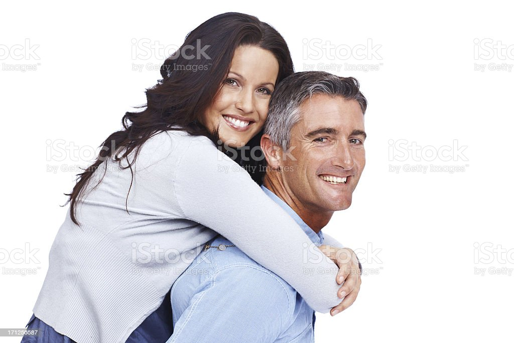 He is the love of her life royalty-free stock photo
