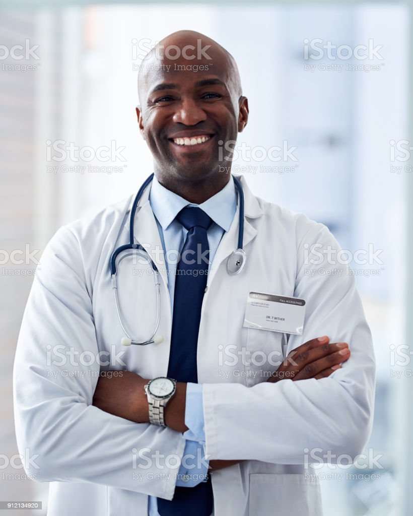He is the professional of all professionals stock photo