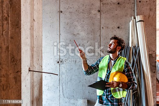 1047558948istockphoto He knows everything there is to know about building 1178185836