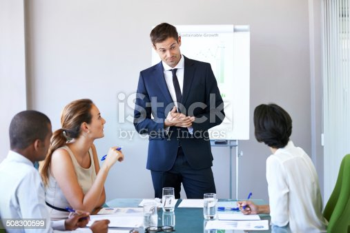 497451790 istock photo He knows how to communicate with his team 508300599