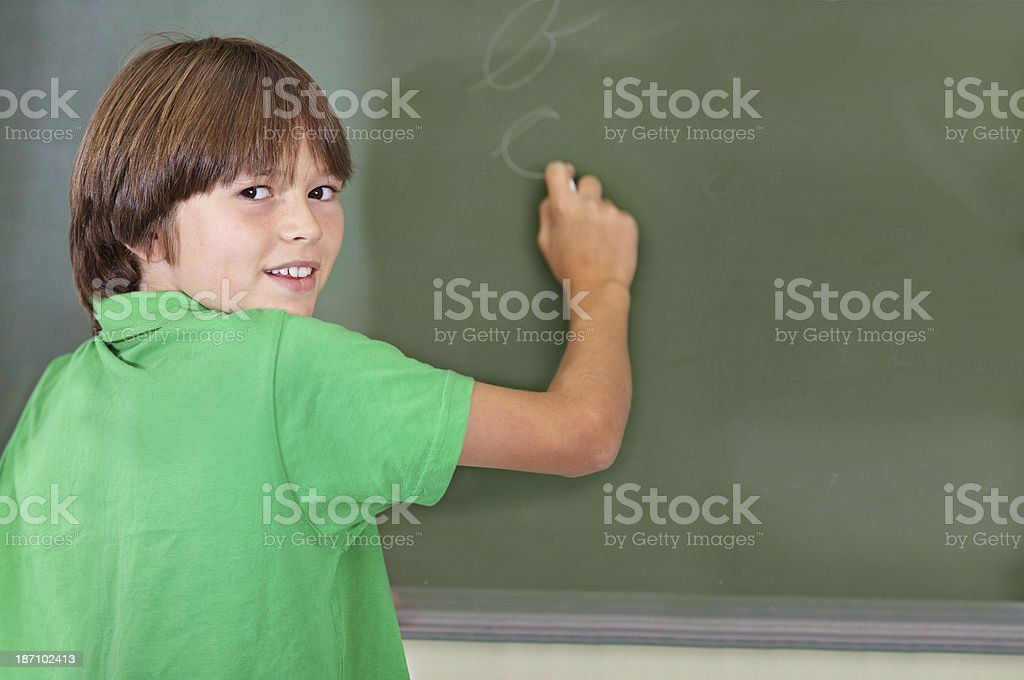 He knows the answer royalty-free stock photo