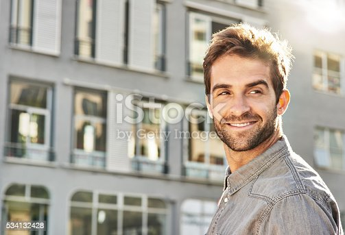 istock He loves getting out in the city 534132428