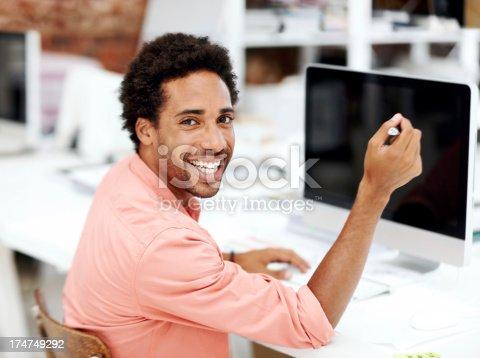 538177146 istock photo He loves his job 174749292