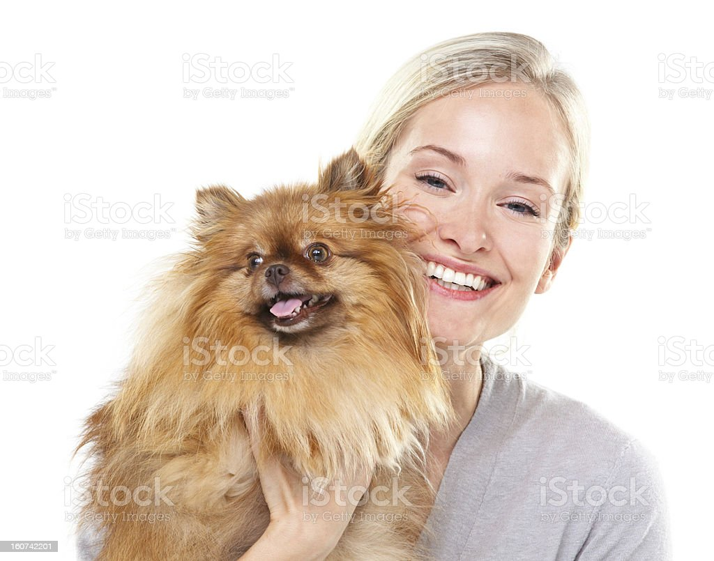 He makes me smile every day stock photo