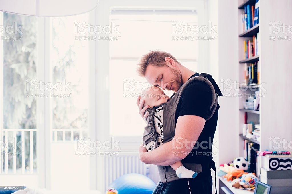 He means everything to him stock photo