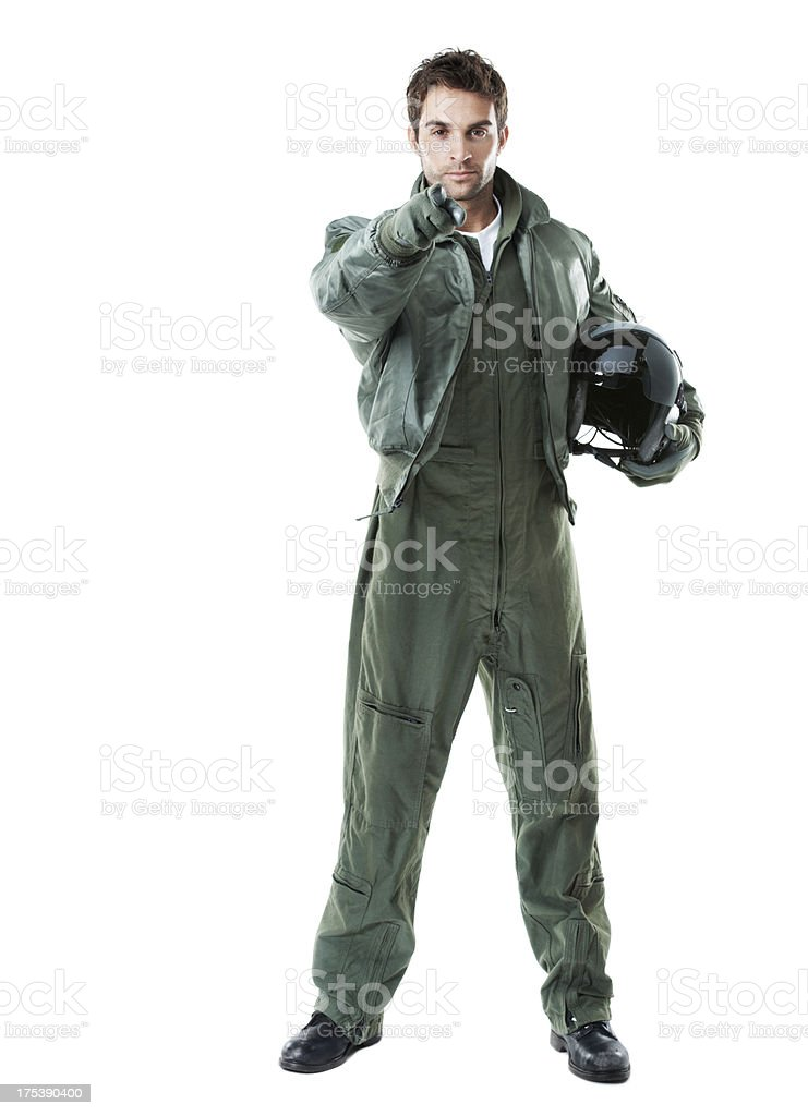 He only picks the best! - Recruitment stock photo