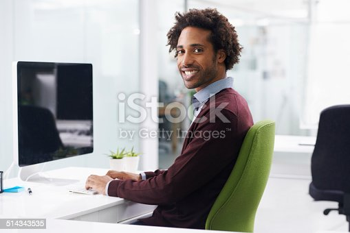 istock He really loves his job 514343535