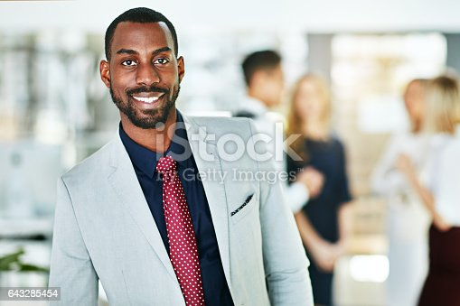 istock He sets the tone for success 643285454