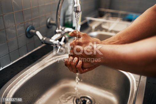 1182622704istockphoto He takes his cleanliness seriously 1187337153